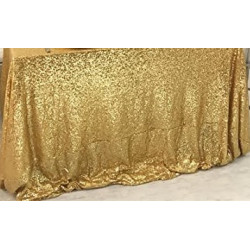Nappe sequin or 2.50 x 2.50 M